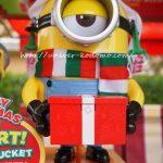 ミニオンスチュワートメリークリスマスのポップコーンバケット