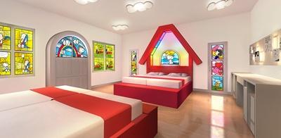 スヌーピーハウスルーム 画像